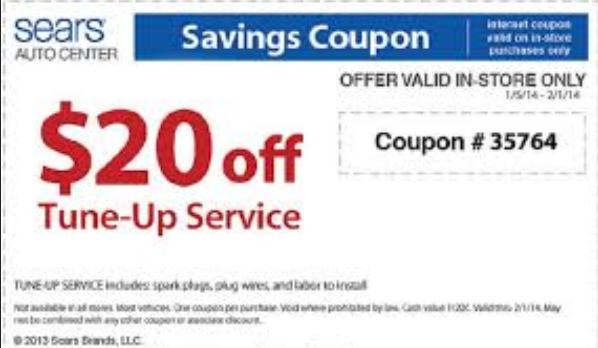 Sears printable coupons october 2018