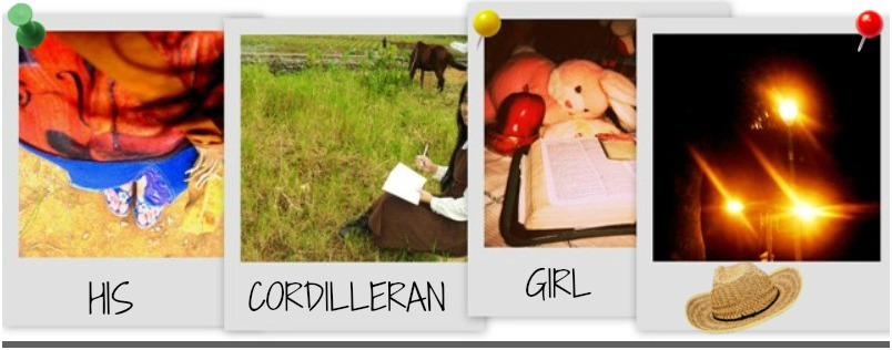...His Cordilleran Girl...