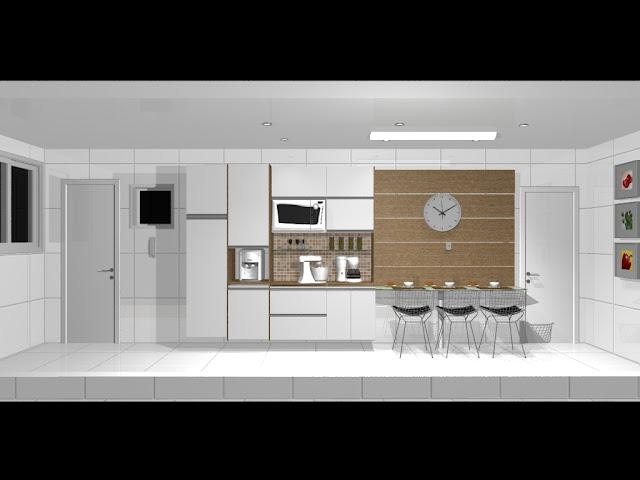 Cozinha Planejada em Tom Amadeirado