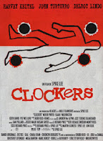 Picture is of the movie poster for the Spike Lee film Clockers