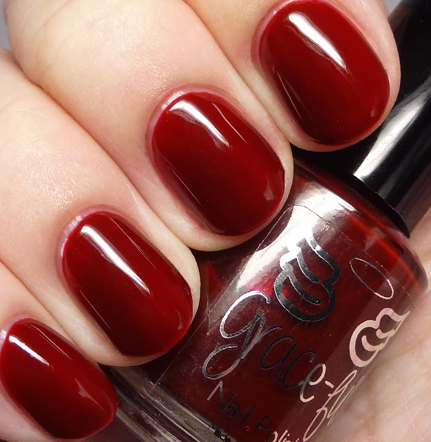 Grace-full Nail Polish Christmas Red
