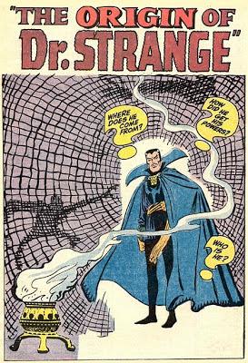 The origin of Dr Strange, Stan Lee and Steve Ditko