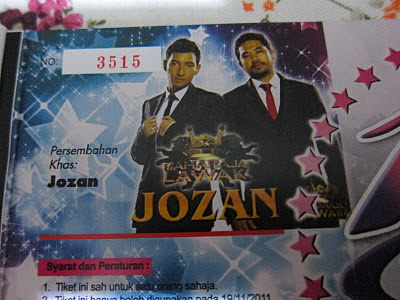 jozan+tiket FREE TICKET GIVE AWAYY!!!!