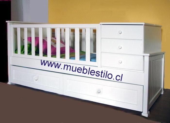 bebe muebles & detalles: cuna funcional bebe