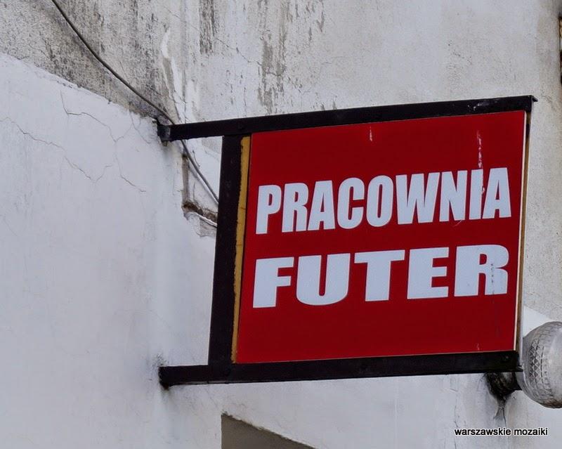 szyld Warszawa