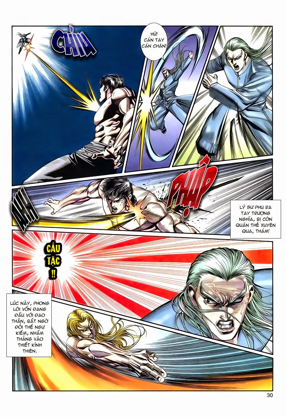 Long Hổ Phong Bạo chap 9 - Trang 30