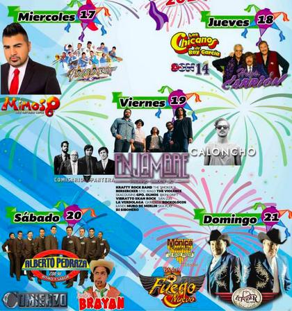 Programa Feria Acolman 2014