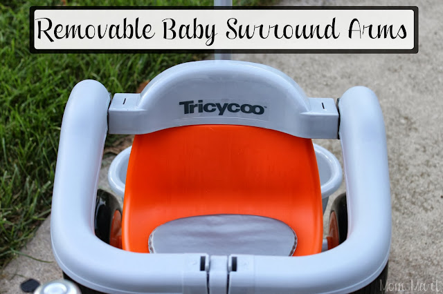 Joovy Trycyoo Tricycle Removable Baby Surround Arms