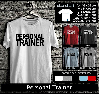 kaos distro personal trainer