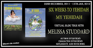 Blog Tour: Six Weeks to Yehidah by Melissa Studdard