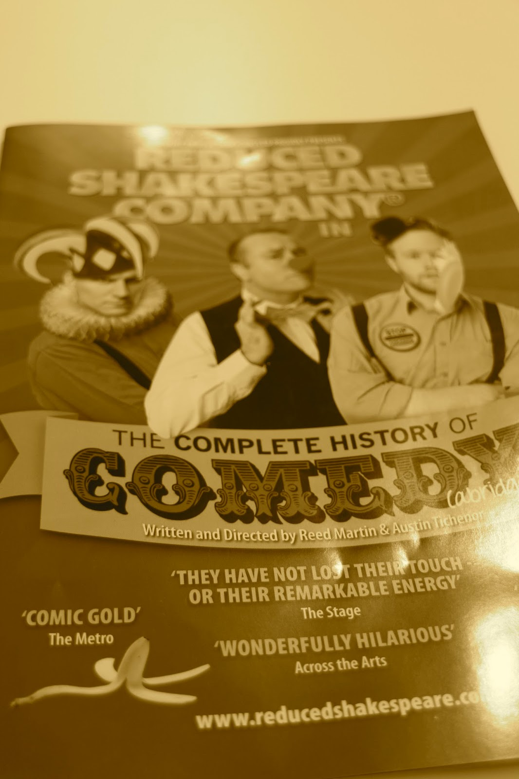 the history of comedy Comedy: comedy, type of drama or other art form the chief object of which,  according to  the different forms it has taken in different periods of dramatic  history.