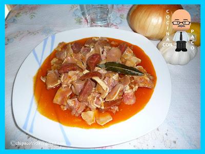 Cocina con paco oreja de cerdo guisada for Cocinar oreja de cerdo