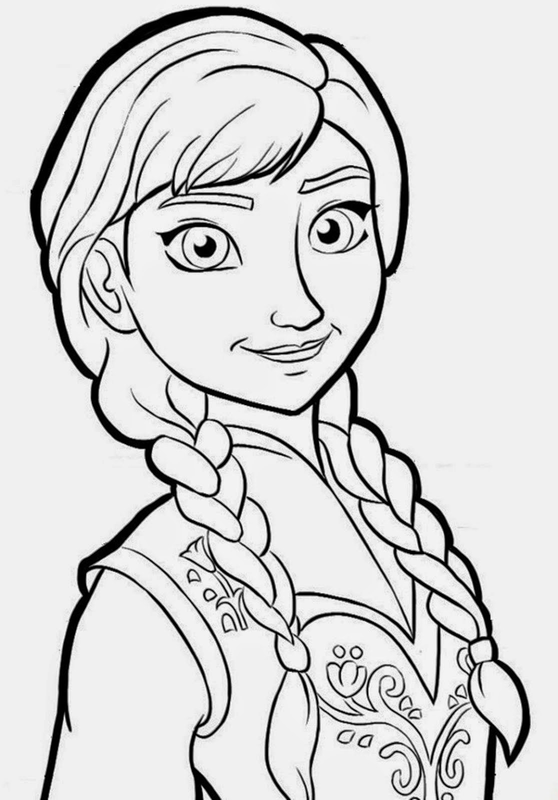 Frozen Coloring Pages Black And White : Desenhos de frozen uma aventura congelante para colorir