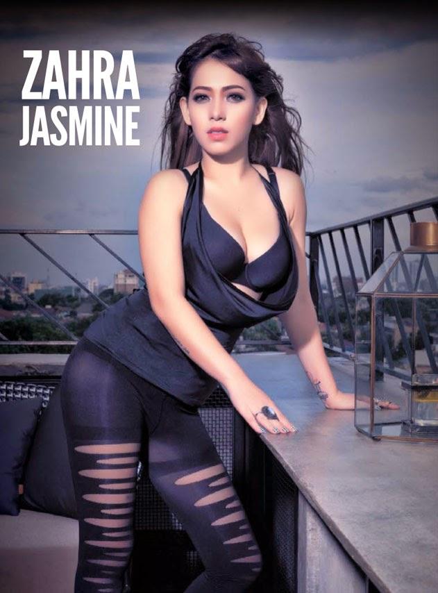 Galeri Foto Zahra Jasmine di Majalah Male Januari 2015 ~ Jagat Seleb