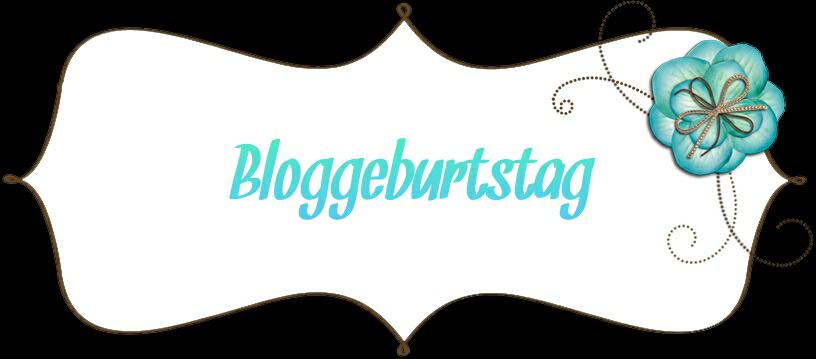 Bloggeburtstag Gewinnspiel bis einschließlich den 30.07.