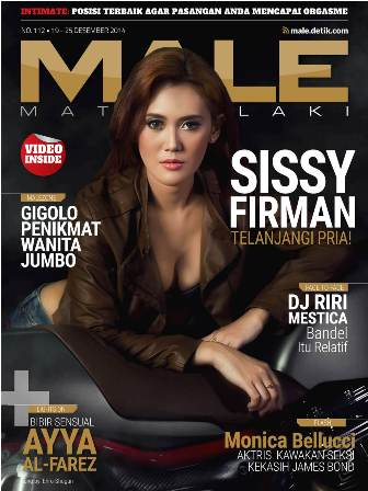 Download Gratis Majalah MALE Mata Lelaki Edisi 112 Cover Model Sissy Firman | MALE Mata Lelaki 112 Indonesia | Cover MALE 112 Sissy Firman | www.insight-zone.com
