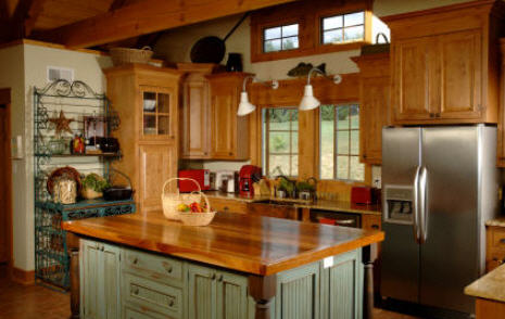 Country Kitchen Cabinet Ideas