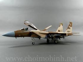 Máy bay mô hình tĩnh F-15C Eagle Aggressor USAF hiệu Witty Wings tỉ lệ 1:72
