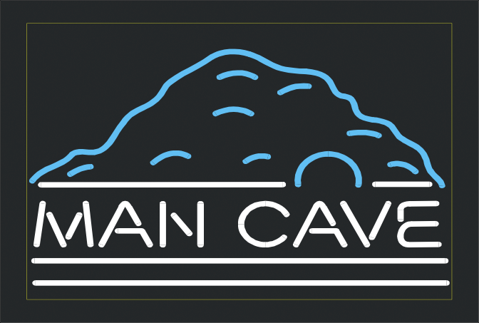 Man Cave Neon Signs Canada : Wiki neon sign man cave beer bar club light