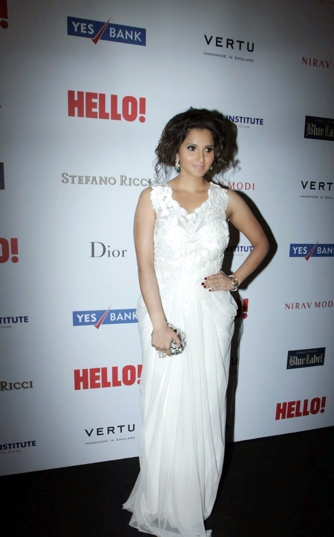 Sania Mirza Latest Stills At Hello Hall Of Frames