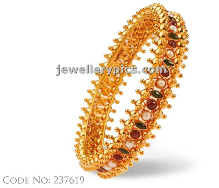 Abharan Jewellers Gold Bangle Designs Latest Jewellery
