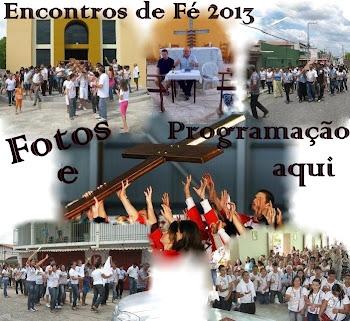 Programação e fotos do Encontro de Fé/2013 da Juventude