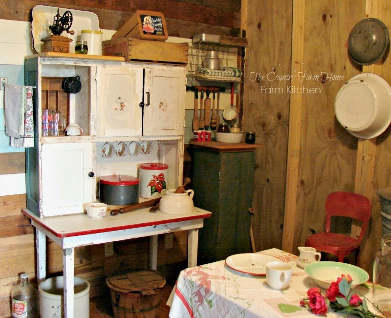 The Country Farm Home: A Farm Kitchen Revealed