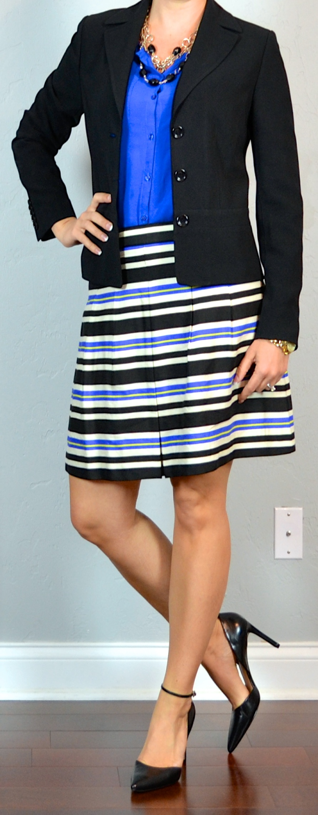 Tibi stripe skirt and red high heels. Find this Pin and more on My Style by Rosy 🌸. r/FrugalFemaleFashion - Help finding a full midi skirt like this fab Tibi one? Topshop's black and white stripe midi skirt is a near exact dupe of Tibi's similar stripe midi skirt from last season.