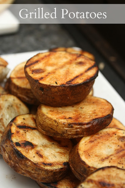 Grilled Potatoes Recipe. It is like a french fry but that great grilled flavor!