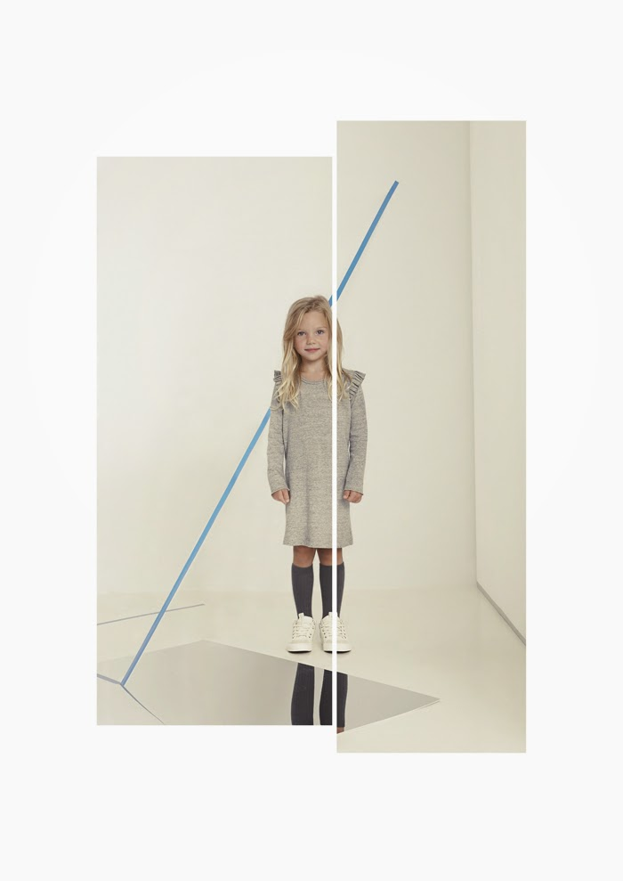 Hermes dress by Kids on the Moon AW14 kids fashion collection