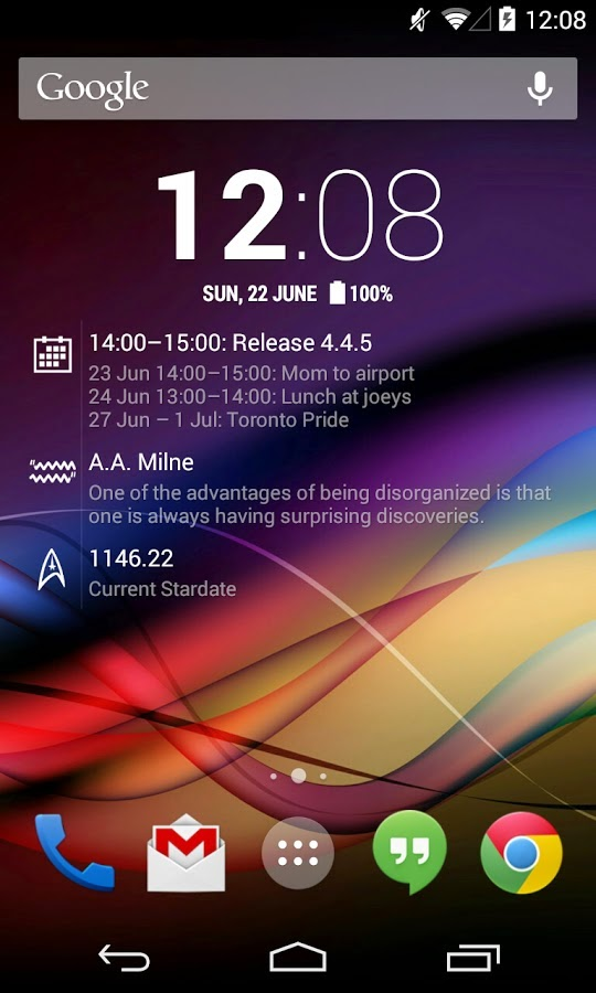 Chronus Pro Home & Lock Widget v5.3.2