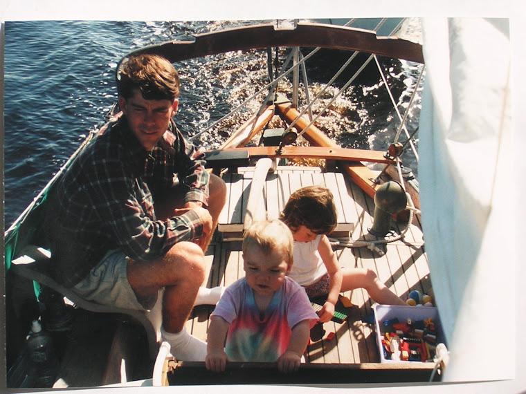 fall of '96 Motoring in Georgia down the ICW