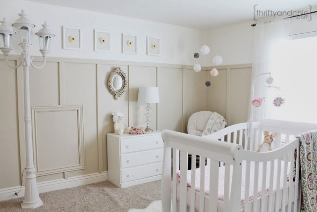 Baby Girl Nursery Design
