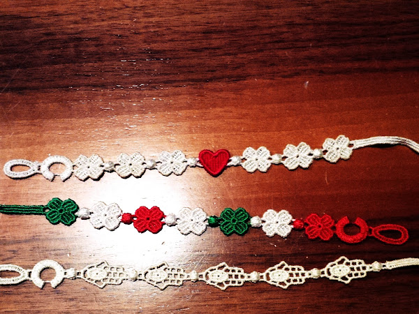 All the Cruciani bracelets in my home!