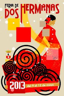Feria de Dos Hermanas 2013 - «Flamenca en Rojo»  Manuel Romero Ponce