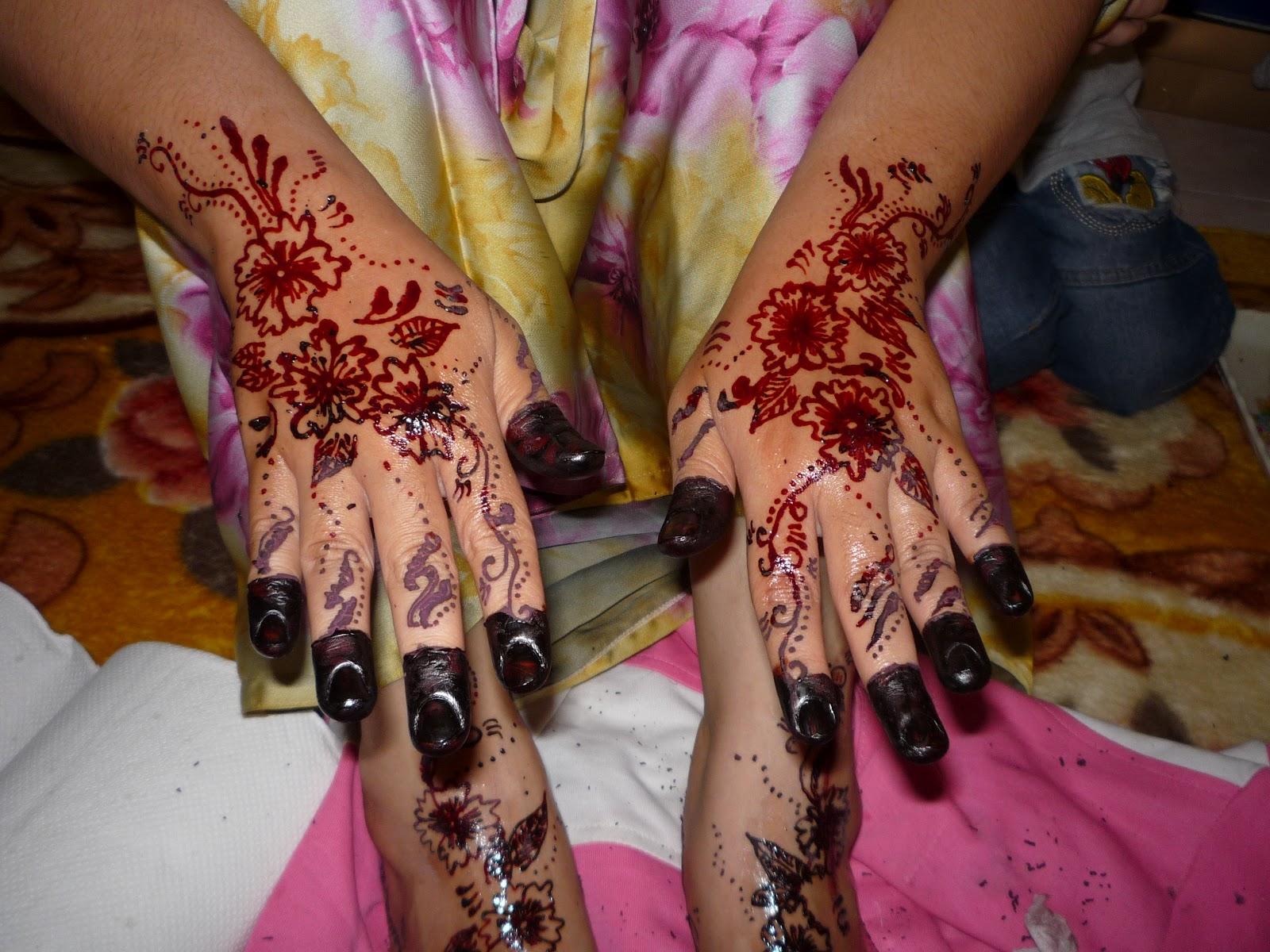 INAI RATU HATI Gambar Contoh Untuk Perkahwinan