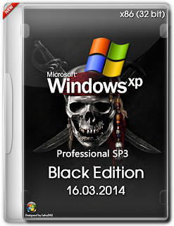 Windows XP Professional SP3 Black Edition March 2014 32Bit
