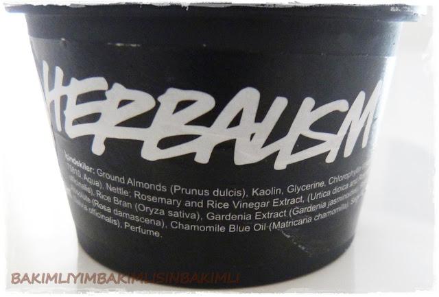 lush herbalism oilt skin peeling