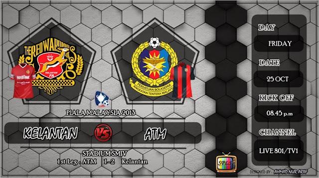 Live Streaming Kelantan vs ATM 25 Oktober 2013