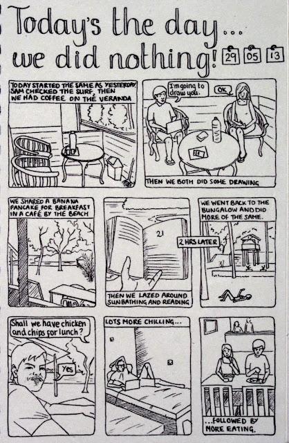 comic strip journal
