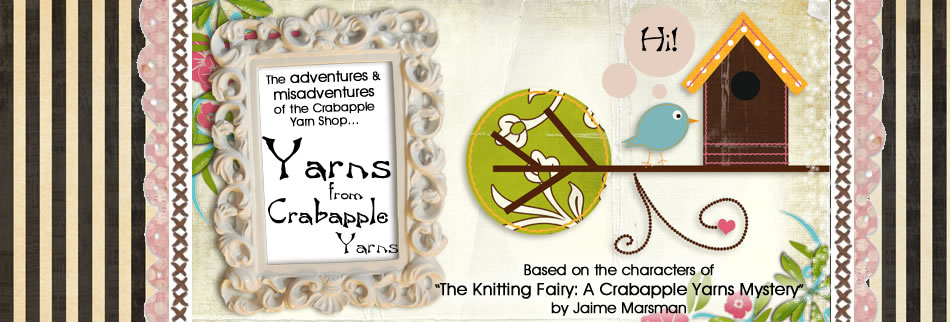 Yarns from Crabapple Yarns