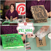 Halloween Spell Book DIY