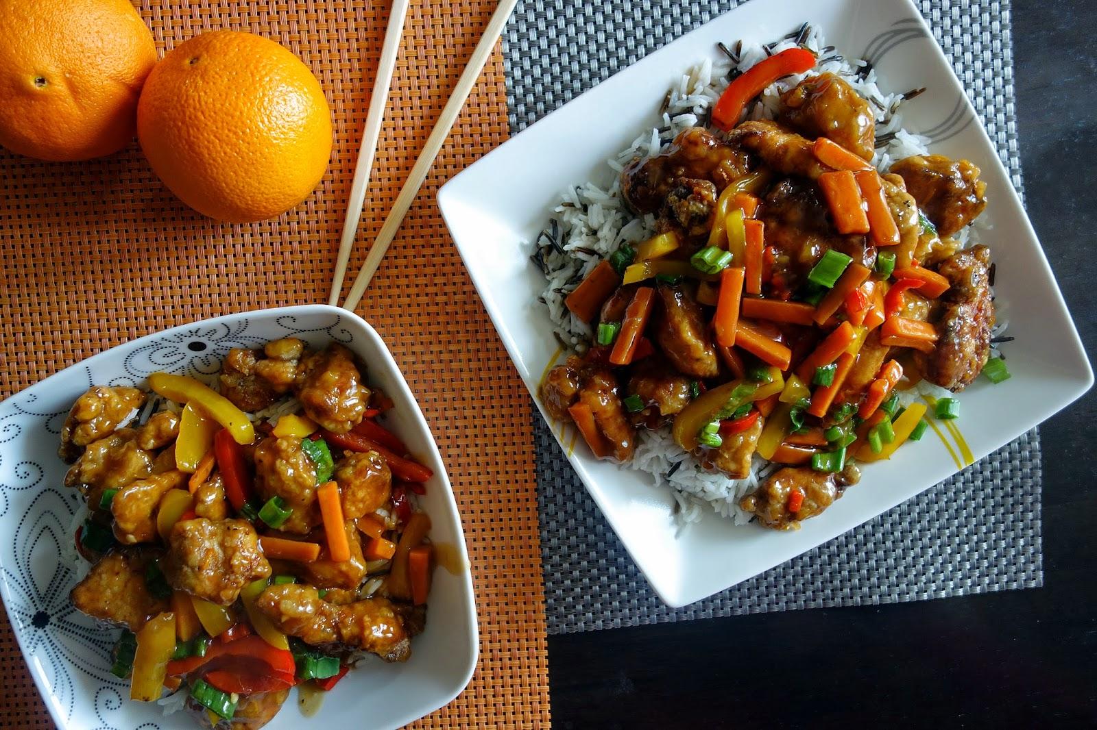 Mania Gotowania Chinski Kurczak Pomaranczowy