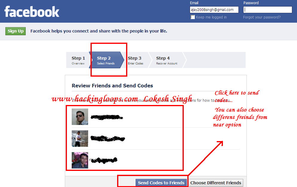 how to stop fake messages from my account on facebook
