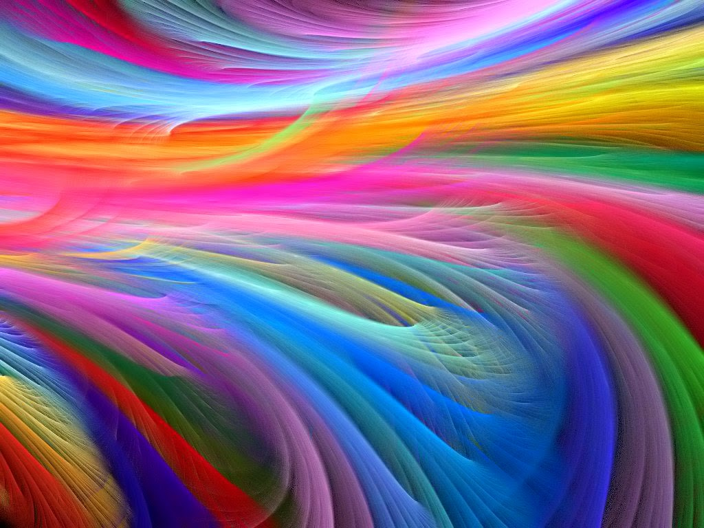 Rainbow Abstract HD Wallpaper Free
