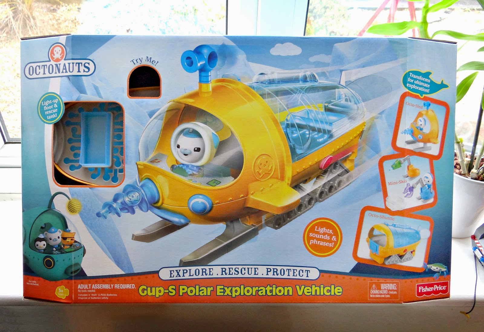 New Fisher-Price Octonauts Toy - Gup-S Polar Exploration Vehicle ...