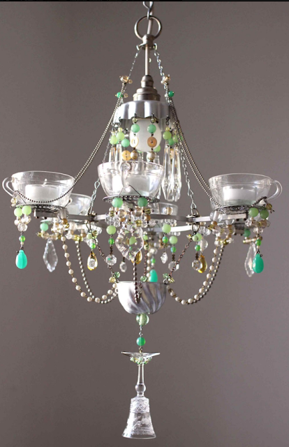 A Patch Of Shade Teacup Chandeliers