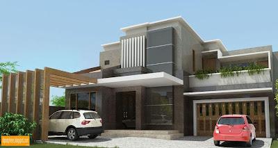 Minimalist House By Diposphere