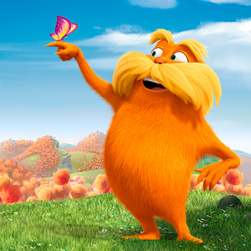 Thanks, Mail Carrier | Dr. Seuss' The Lorax Available ...