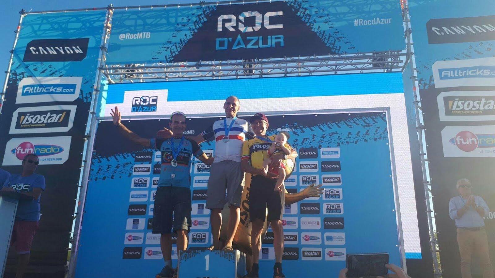 Roc Master , Marc Balascovic Vainqueur Bravo !!